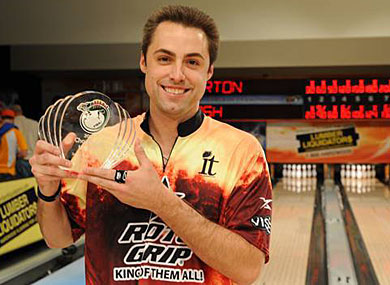 Professional Bowling Champ Comes Out