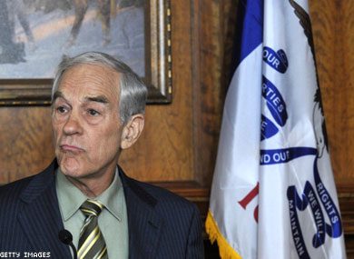 Ron Paul on Prostitution, Gay Marriage