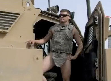 Army gay video