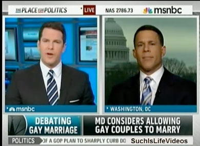Thomas Roberts Wants to Marry at Home