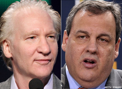 Bill Maher: Chris Christie Is Ruining My State's Reputation