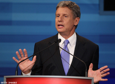 Gary Johnson's Libertarian Appeal