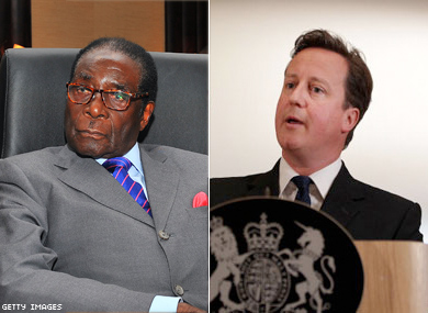Zimbabwe's Mugabe to U.K.'s PM on Gay Rights: 'To Hell With You'