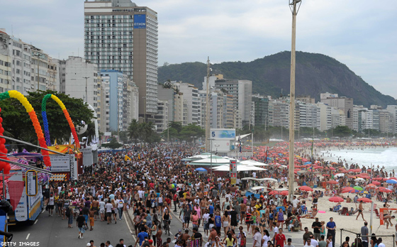 Rio Pride Draws a Huge Crowd