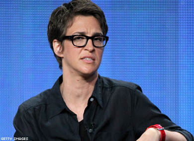 Rachel Maddow Says Gay Culture at Risk From Marriage
