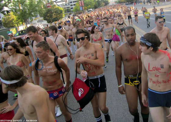 Undie Run for Your Rights