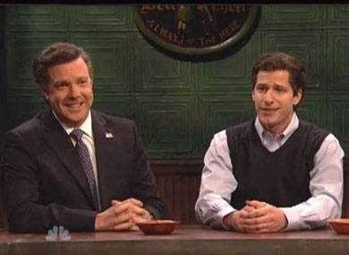 SNL: How Do You Make Mitt Romney Seem Gay Friendly?