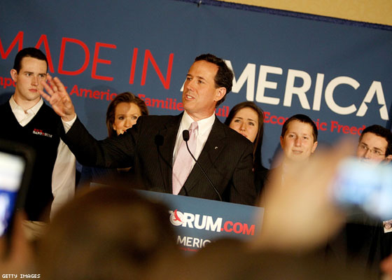 Two More Wins: Evangelicals Again Pick Rick Santorum