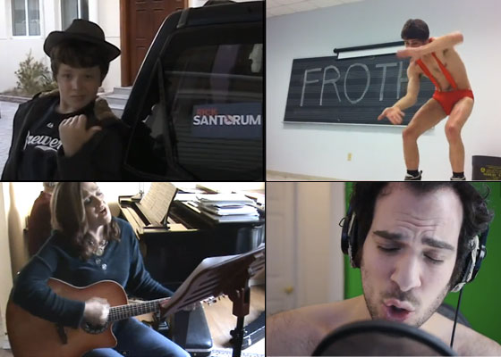 A YouTube Art Form: Rick Santorum Parody Songs