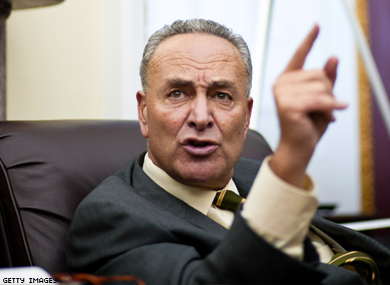 Charles Schumer Makes Case for Gay Judges