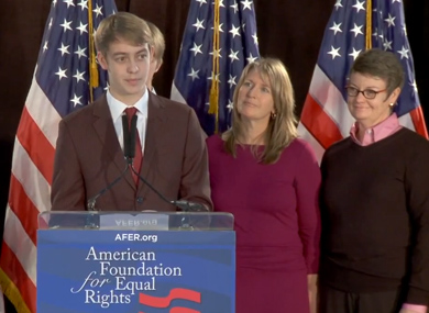WATCH: Son Defends Two Moms in Prop. 8 Case