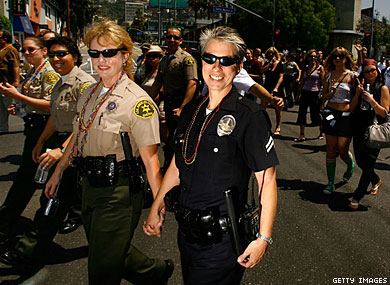 Gay Cop Barred From Pride March