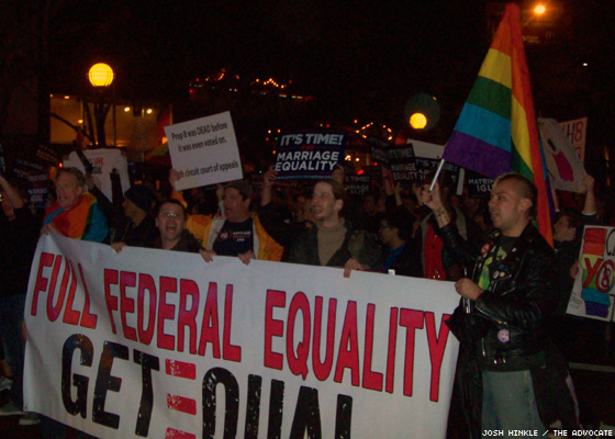 Community Rallies After Prop. 8 Decision