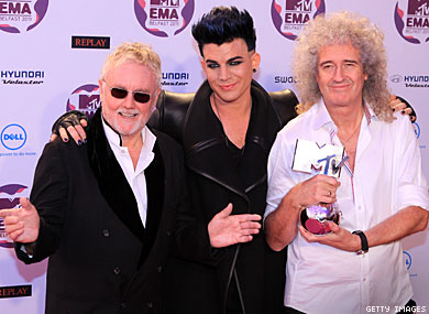 Lambert to Perform With Queen at Sonisphere Fest