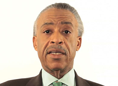 Al Sharpton Campaigns for Marriage Equality