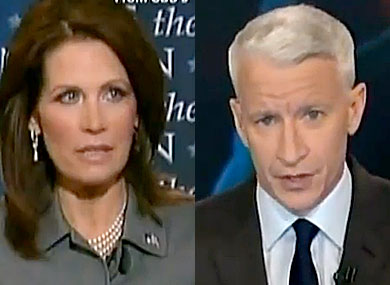 CNN Hosts Call Out Bachmann for Lackluster Talking Points
