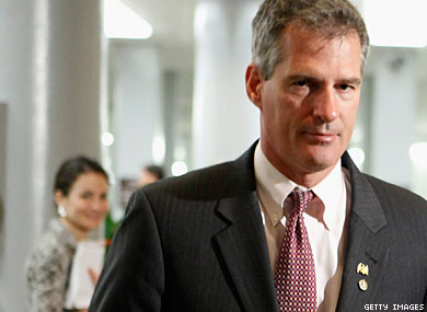 Sen. Scott Brown to Get Log Cabin's Highest Honor