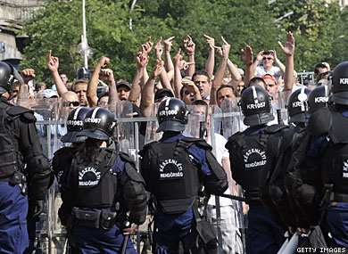 Budapest Pride Group Fights Police on March Restriction
