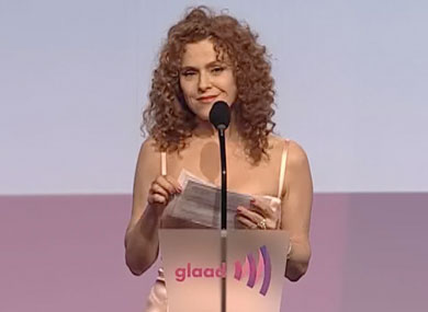 WATCH: Bernadette Peters Presents GLAAD Award to Neil Meron, Craig Zadan