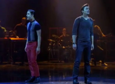 "WATCH: Matt Bomer and Darren Criss Perform Emotional ""Somebody That I Used to Know"""
