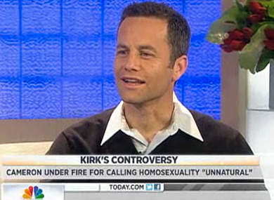 WATCH: Kirk Cameron Says His Comments Weren't Hate Speech