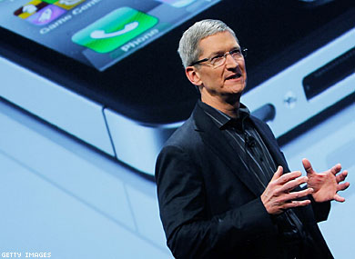 With Steve Jobs's Resignation, Apple Picks Tim Cook