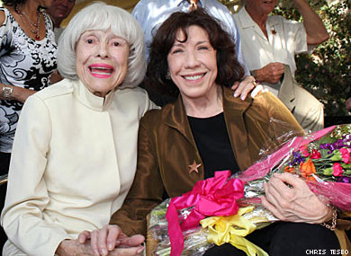 Lily Tomlin, Jane Wagner Honored by Carol Channing in Palm Springs