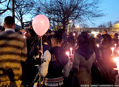 Vigil in D.C. For Murdered Trans Woman