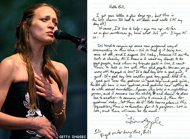 READ: Fiona Apple's Supportive Letter to Gay Fan