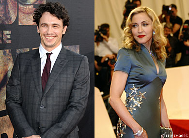 James Franco, Madonna Release Statements as New Films Premiere