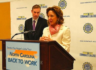 N.C. Senator Kay Hagan Speaks Out Against Antigay Amendment 1