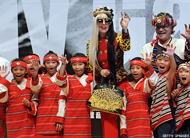 Taiwan's Gays Welcome Lady Gaga
