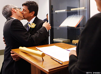 Study: Marriage Equality=Healthier Gays