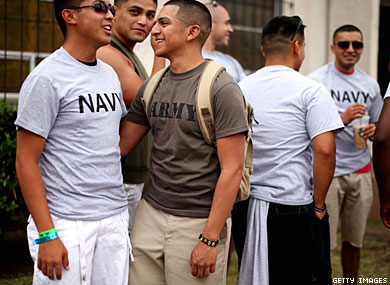 Feds Won't Defend Laws Denying Benefits to Same-Sex Military Spouses
