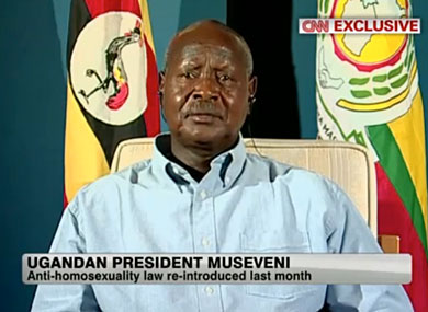 Ugandan President: Gays Are Not Persecuted