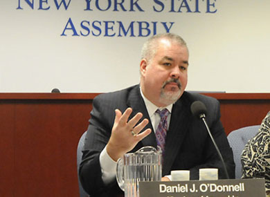 As Clock Ticks on N.Y. Marriage, O'Donnell Boosts Sponsorship