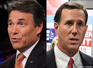 Perry, Santorum Denounce Call for Global Gay Rights