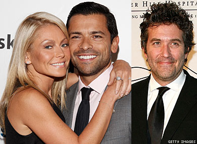Kelly Ripa on Seeing Husband Kiss Another Man