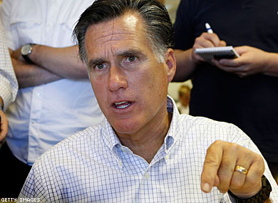 Heavyweight Republican Donors Oppose Romney on Gay Marriage