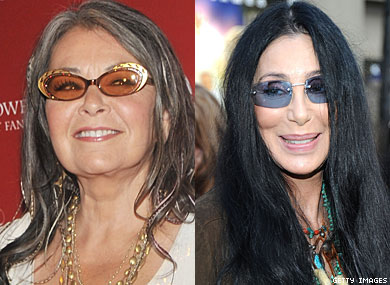 Roseanne  Kind of Wants to Make Out With Cher