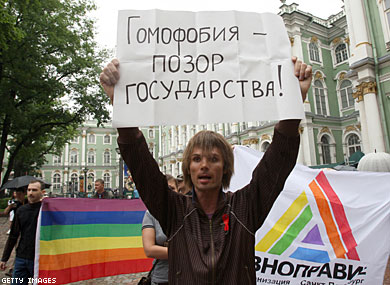 "Russian Orthodox Church Asks Lawmakers to End ""Gay Propaganda"""
