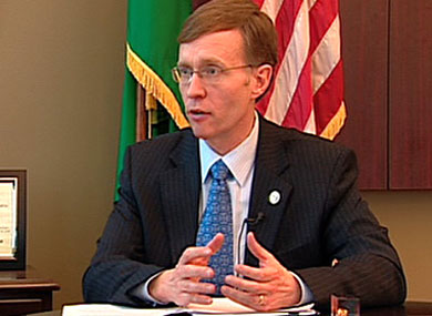 Antigay Candidate Seeks Washington Governor's Office