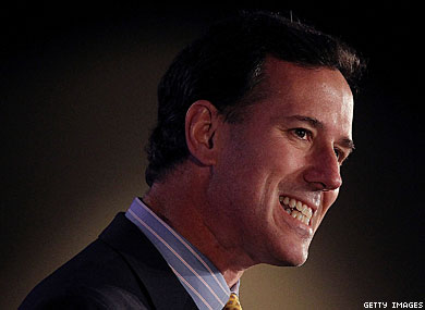 "Santorum: Gay Unions ""Cheapen"" Marriage"
