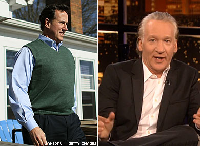 Bill Maher: Rick Santorum Thinks About Gay Sex More Than Gays