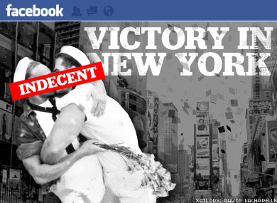 OOPS, THEY DID IT AGAIN:Facebook Sorry for Censoring Kiss