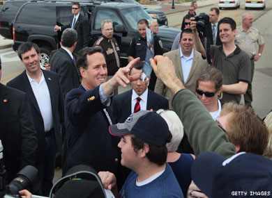 Santorum Wins Louisiana Primary