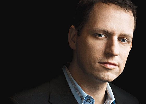 Peter Thiel: A Gay Libertarian Billionaire on How to Fix the Country