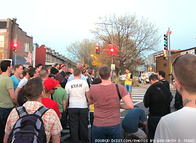 March to Protest Antigay Crimes in D.C. Draws Large Crowd