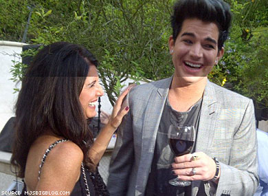 Adam Lambert and Mother Both Honored by PFLAG