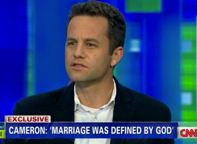 "Kirk Cameron: Homosexuality is ""Unnatural, Detrimental, Destructive"""